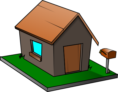Row clipart property. Free of houses download
