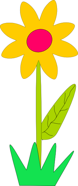 Row clipart row spring flower. Of flowers panda free