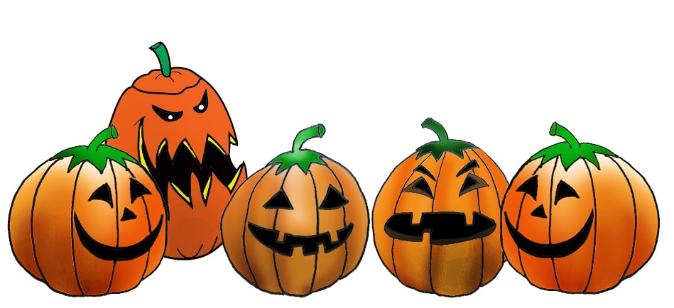 Row of pumpkins png. Collection pumpkin clipart