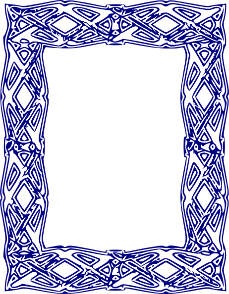 Royal blue borders and frames png. Frame clipart at getdrawings