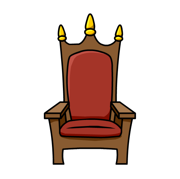 Royal drawing chair. Collection of throne