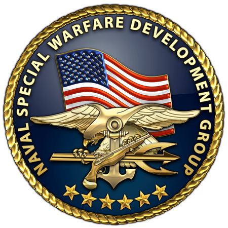 Royal drawing navy seal. Military insignia d u