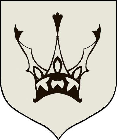Royal drawing shield. Kingsguard game of thrones