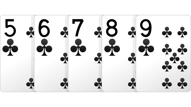 Drawing cheat hand. Poker hands order rankings