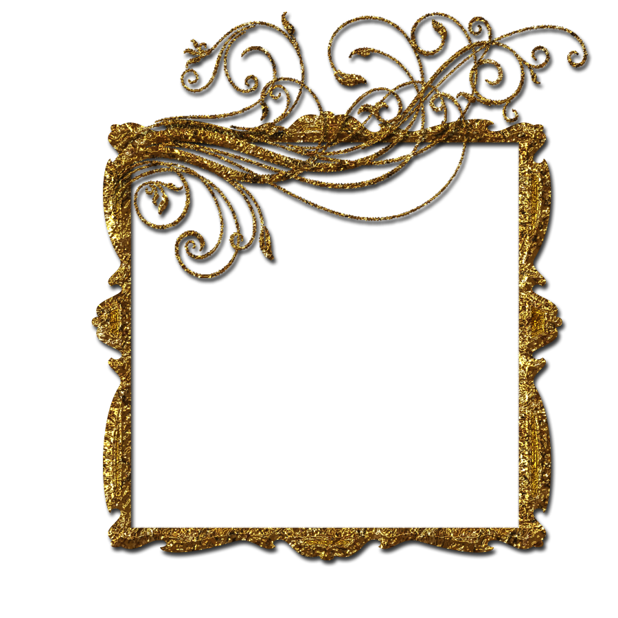 Royal frame png. Gold by theartist on