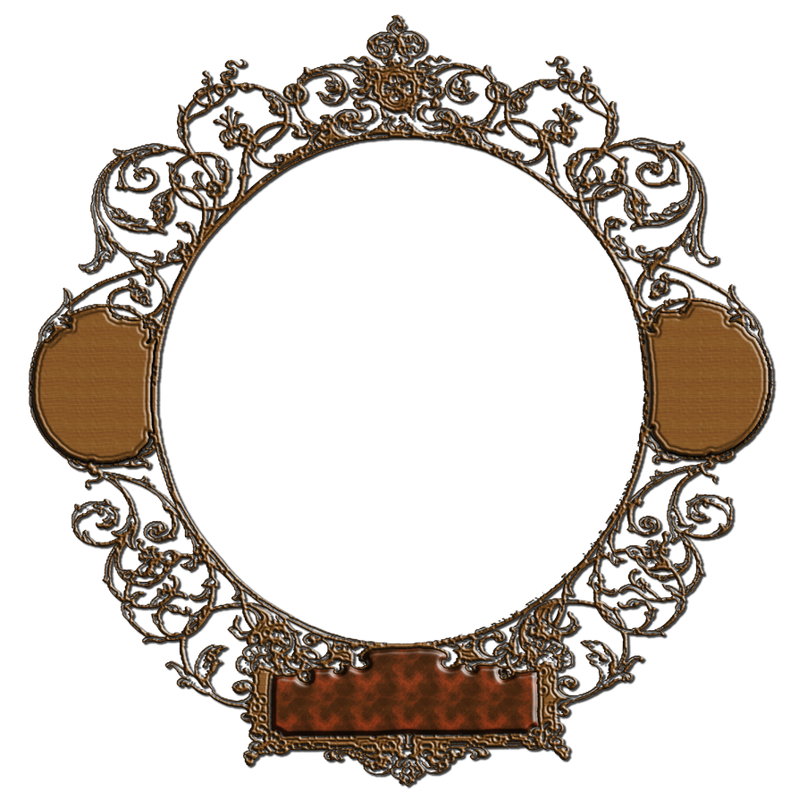 Royal frame png. Wooden decorated by gautamdas