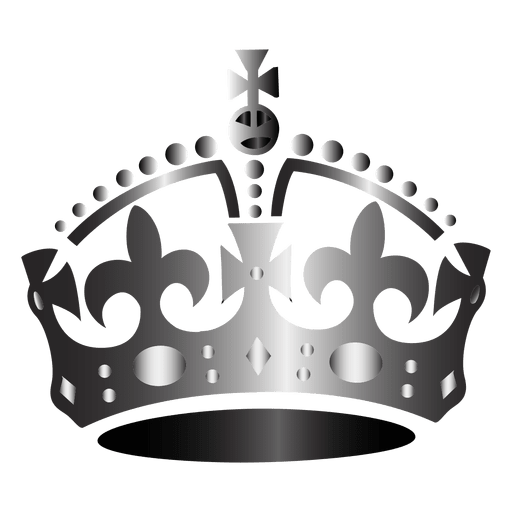 Royal vector queen crown. Icon transparent png svg