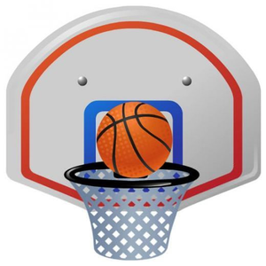Royalty free clipart basketball. Goal images at clker