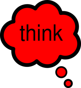 Royalty free clipart thinking. Think clip art at