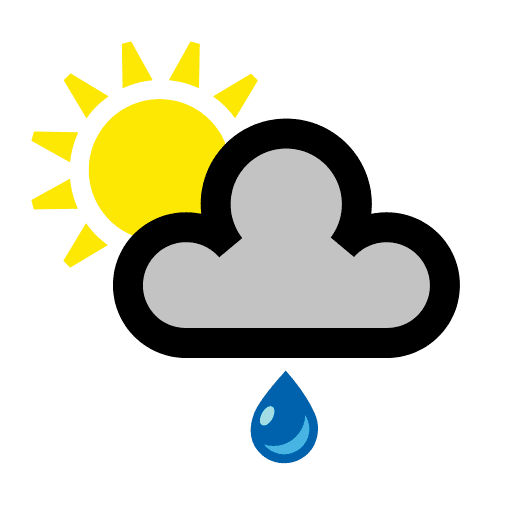 Royalty free png. Weather icons in transparent