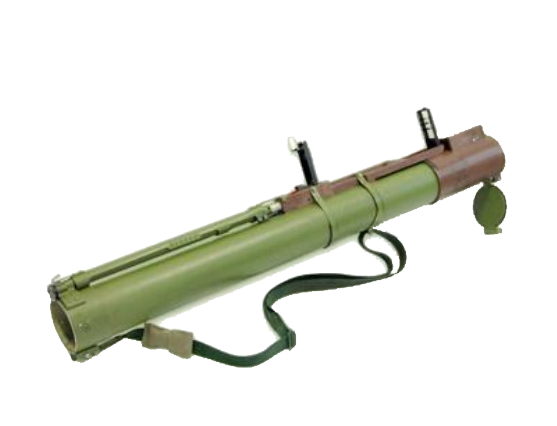 Rpg drawing anti tank. Container g for disposable