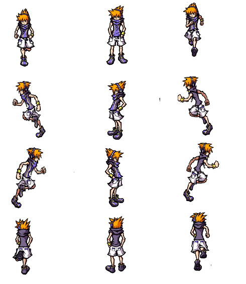 Rpg Sprite Sheet Transparent & PNG Clipart Free Download - YA-webdesign
