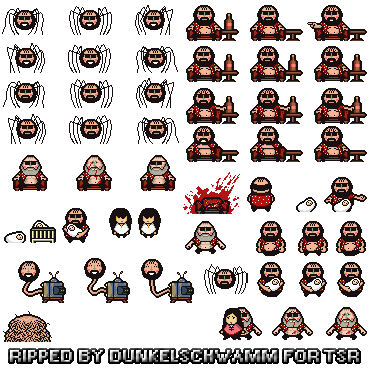 Rpg sprite sheet png. Pc computer lisa the