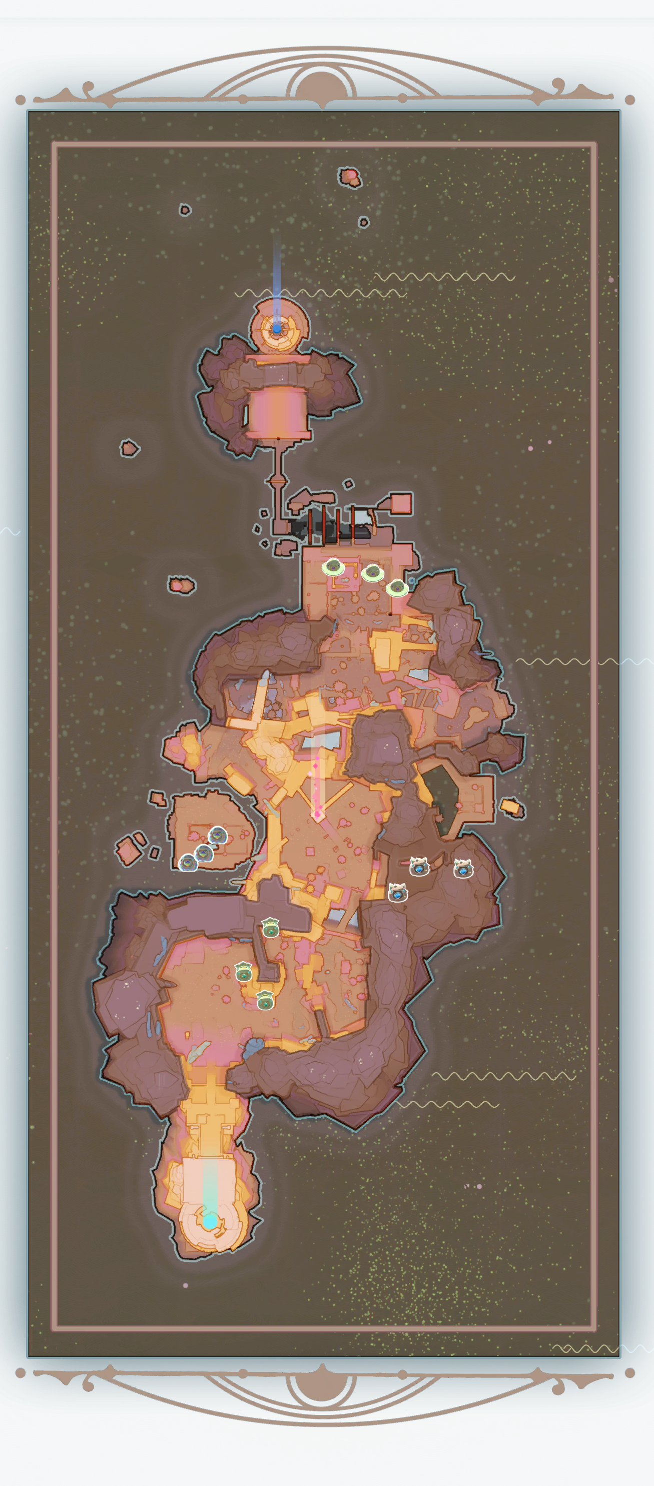 Rpg statue map god png. Fountain plort locations slime