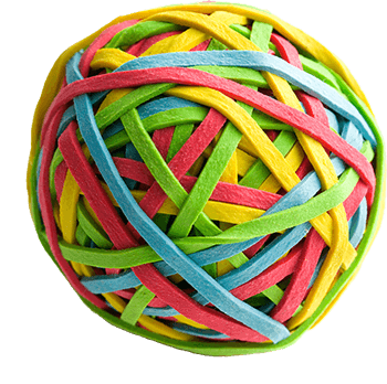 Elastic band png. Rubber stacker play mum