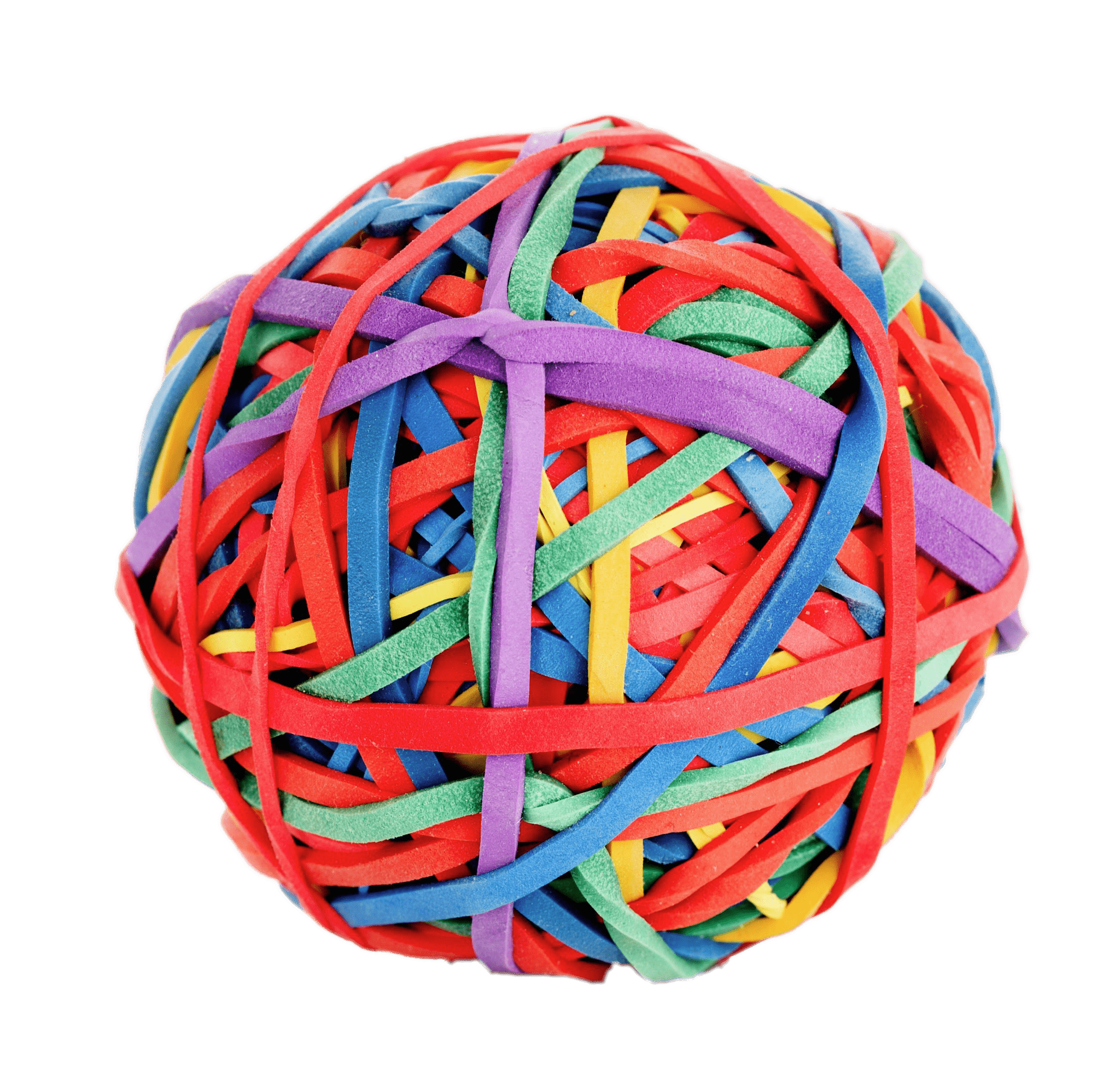 Ball clip rubber. Of bands transparent png