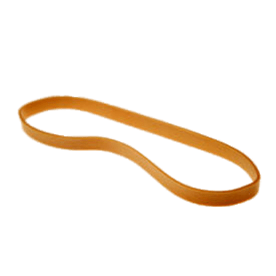 Rubber band png. Single transparent stickpng