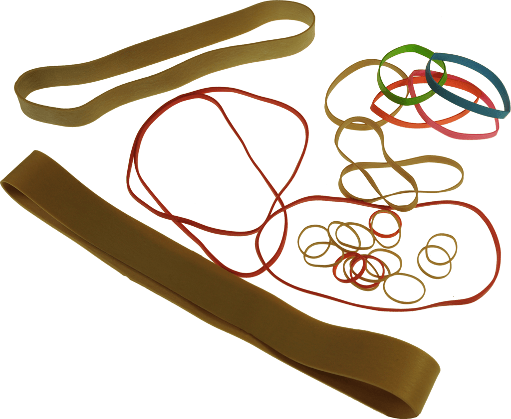Rubber band png. Stationery bands many in