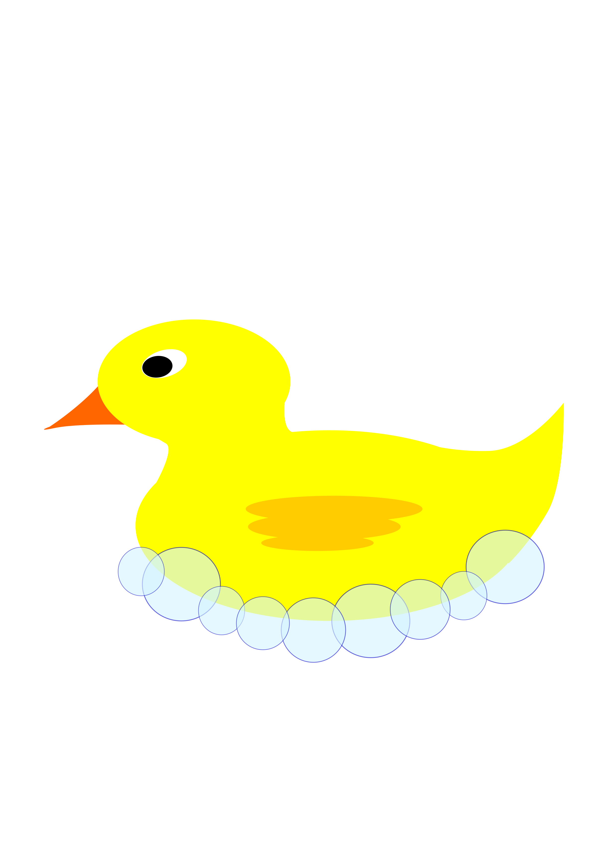 Rubber ducky clipart 3 duck. In bubbles big image