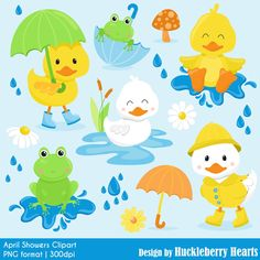Rubber ducky clipart spring. On sale duck clip