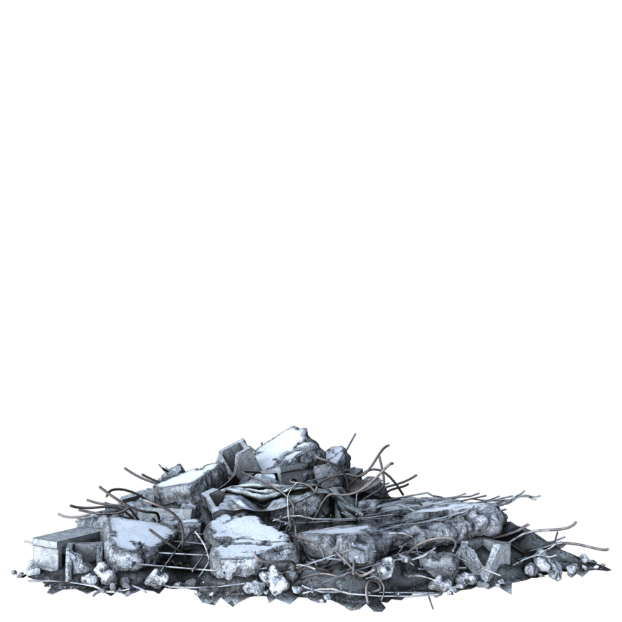 piles of rubble png