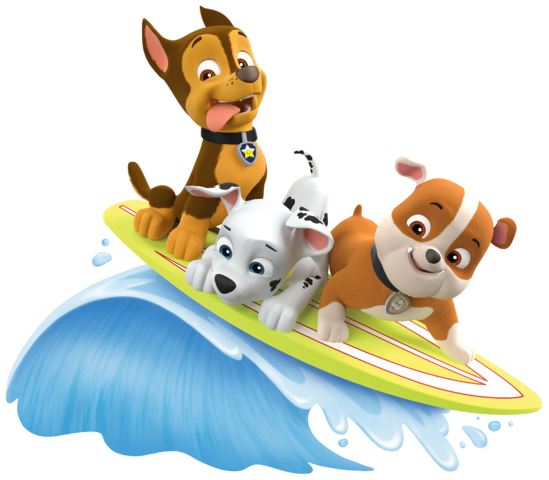 Rubble paw patrol png. Image marshall chase summer