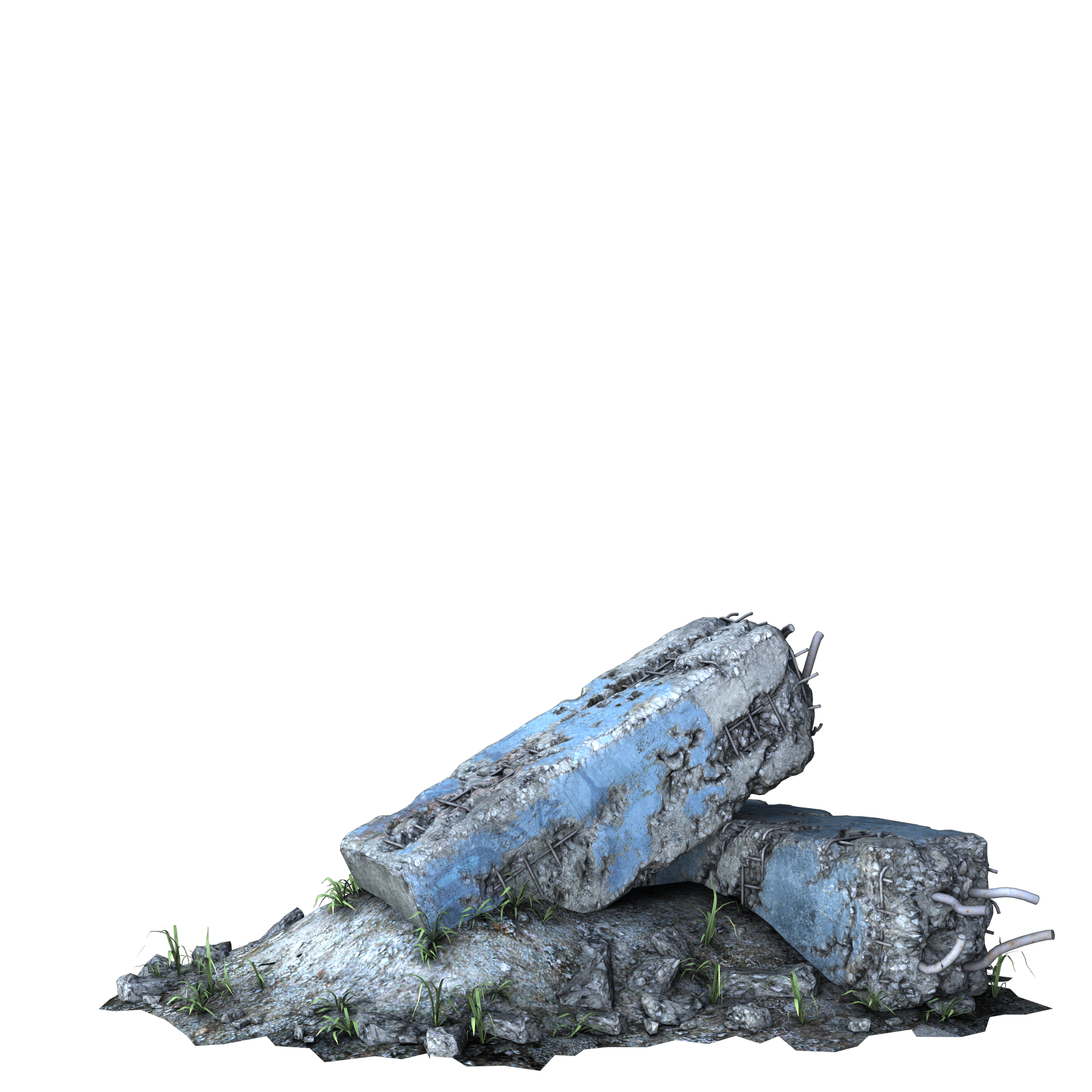 Rubble png. Ruined column by cgartiste