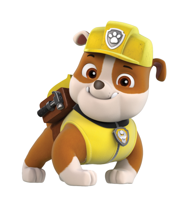 Patrulha canina imagens e. Rubble png clipart library library