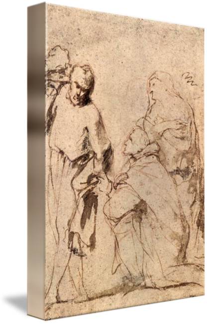 Rubens drawing human figure. Study by peter paul