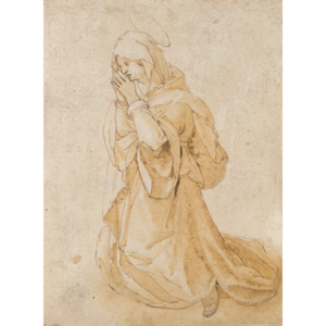 Rubens drawing red chalk. Old master drawings and