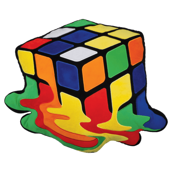 Rubics cube png. Rubik s embroidered pillow
