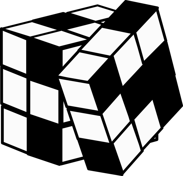 Rubik clipart animated. S cube png image