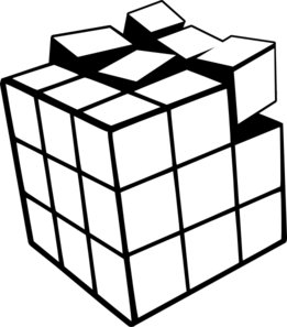 Rubiks cube d clip. Blank drawing dice png free download