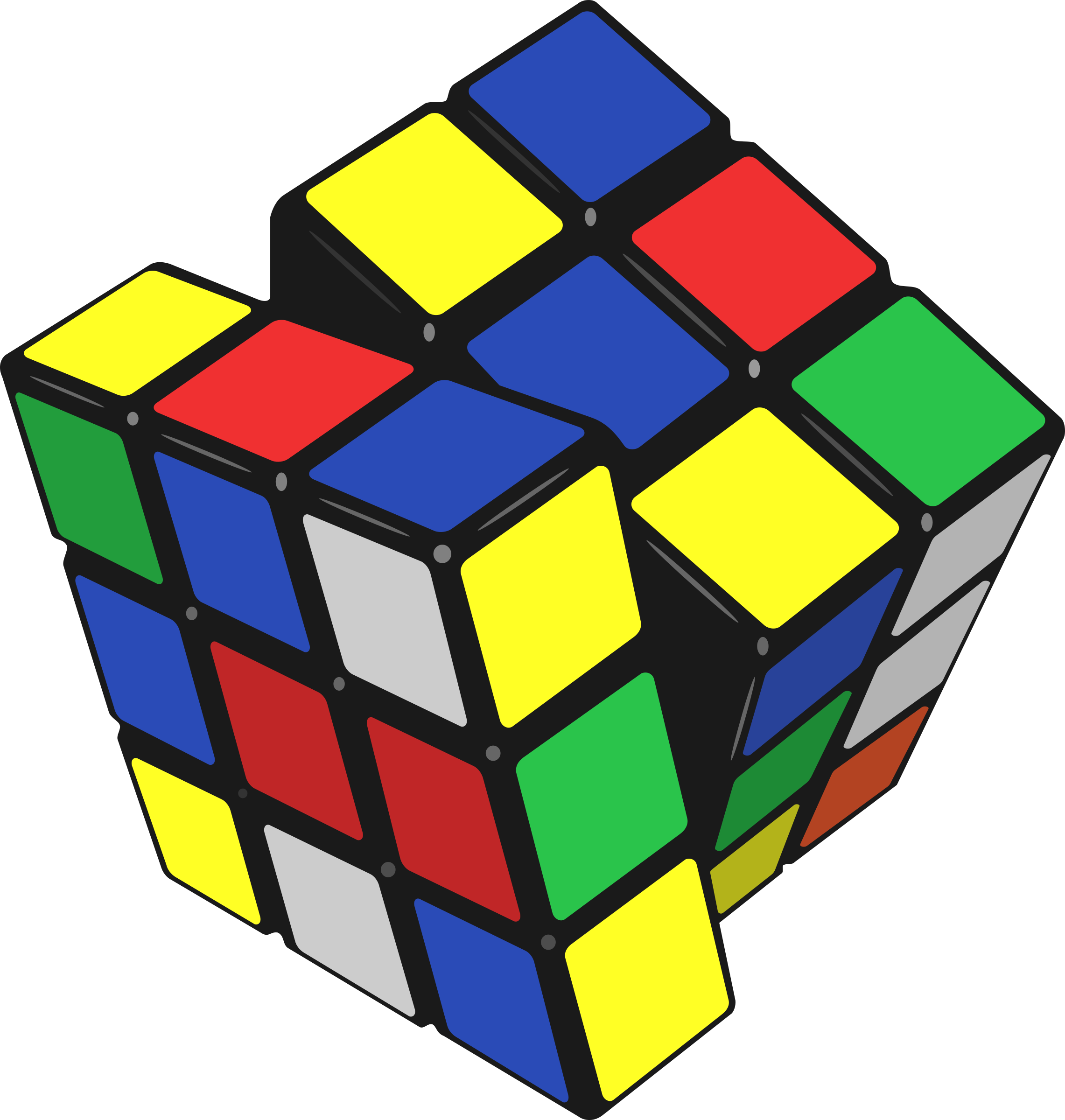 Rubik clipart clip art. Cube of icons png