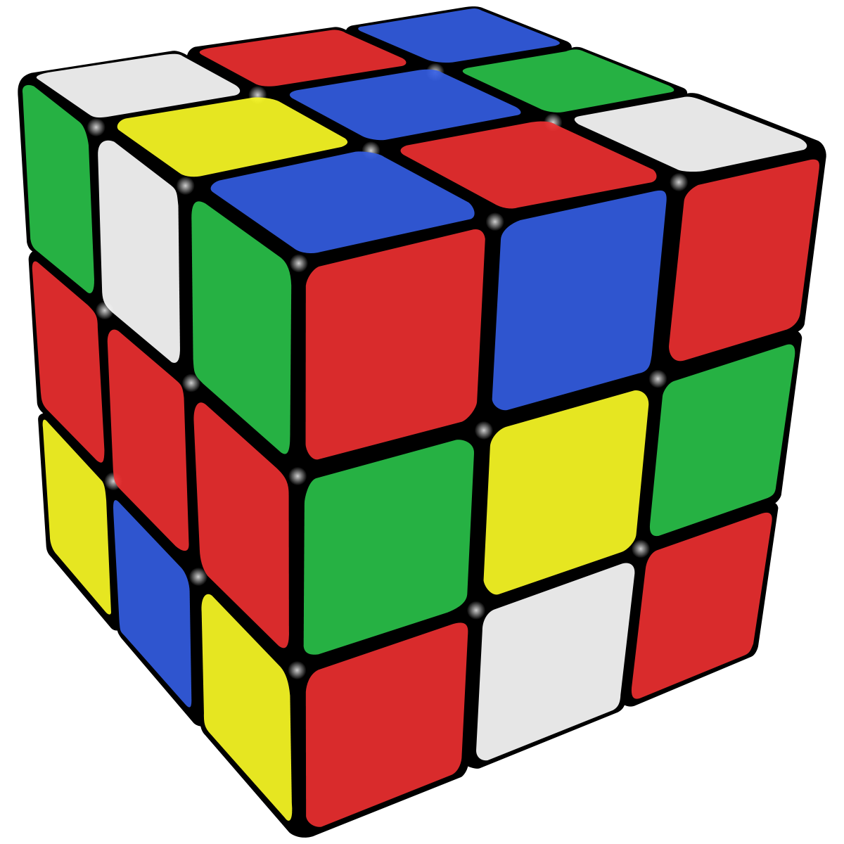 Rubik clipart cube shape. Optimal solutions for s