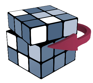 Rubik clipart cube shape. New s notation widget