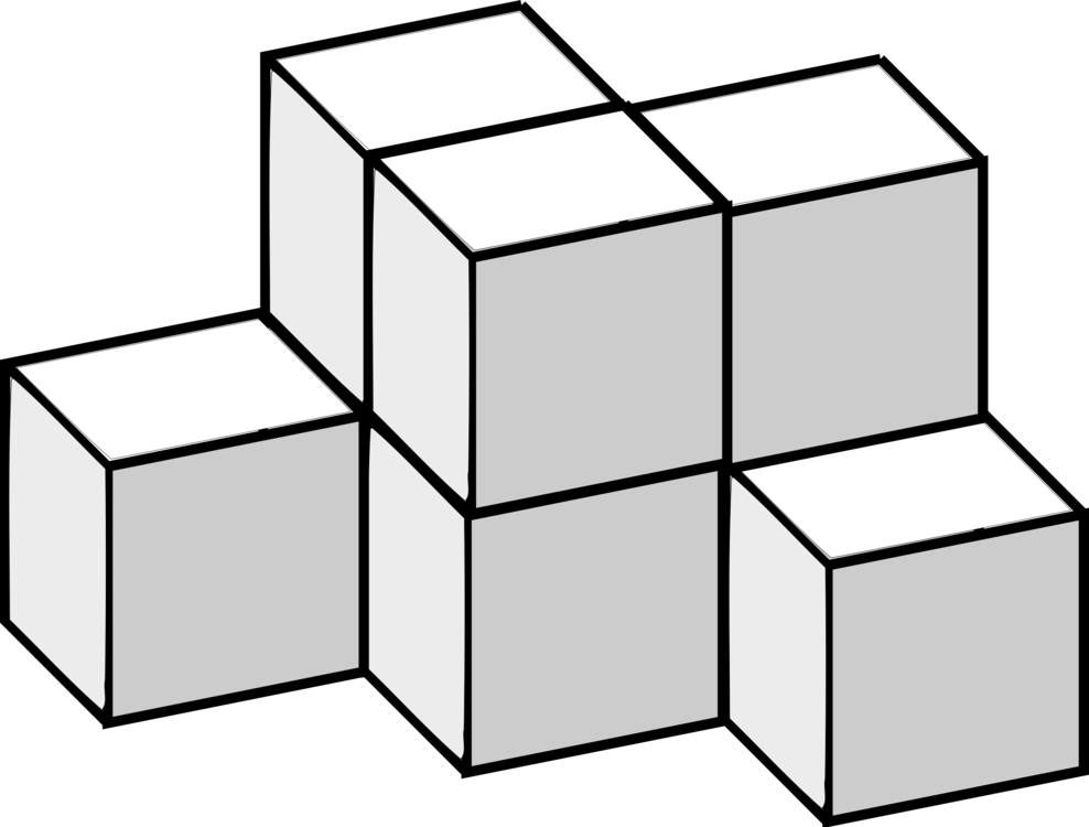 Rubik clipart cube shape. S three dimensional space