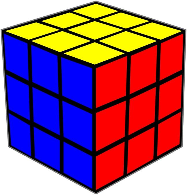 Rubik clipart cube shape. Image result for free