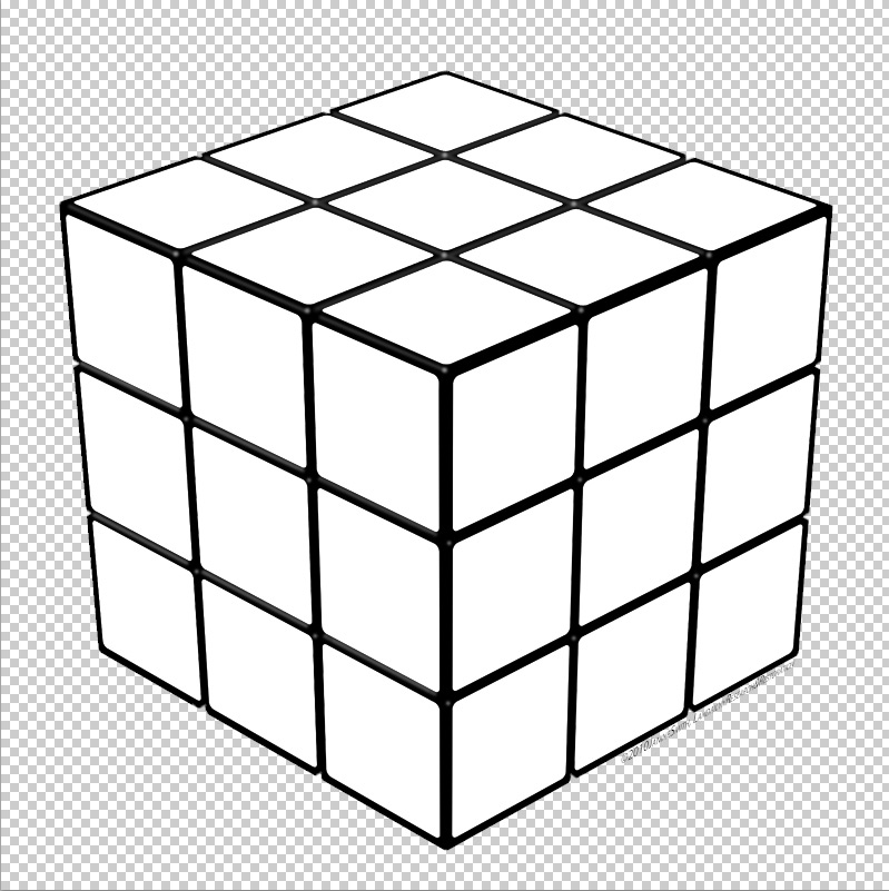 Rubik clipart cube shape. Ism tipsquirrel youll notice