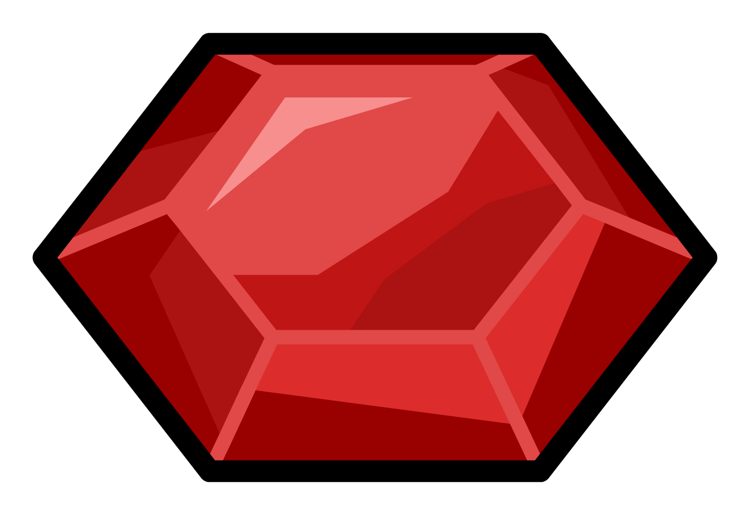 Ruby transparent. Stone gem png image