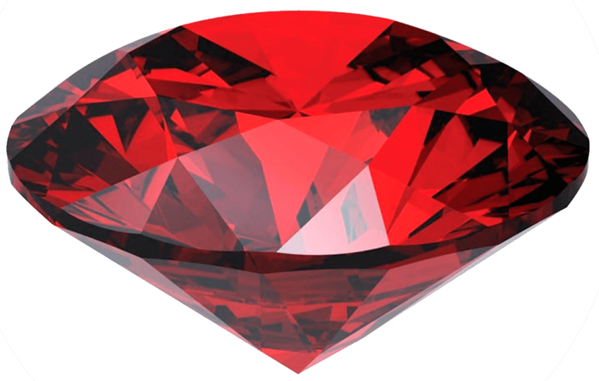 Ruby transparent. Stone gem png free