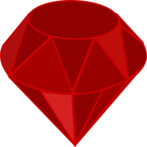 Ruby transparent. Clip art at clker
