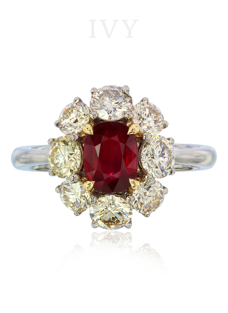 Ruby transparent beautiful. And diamond ring ivy