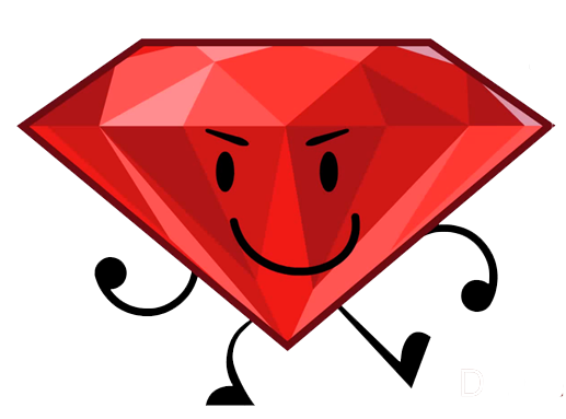 Ruby transparent bfdi. Image png battle for