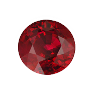 Ruby transparent birthstone. July birthstones gemstones american