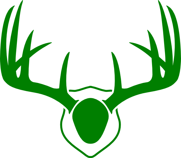 Rudolf antlers png. Green clip art at