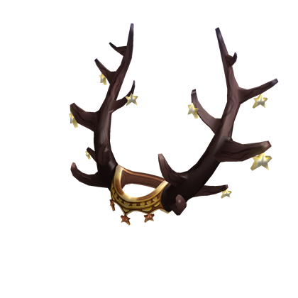 Rudolph antlers png. Starry rune roblox d