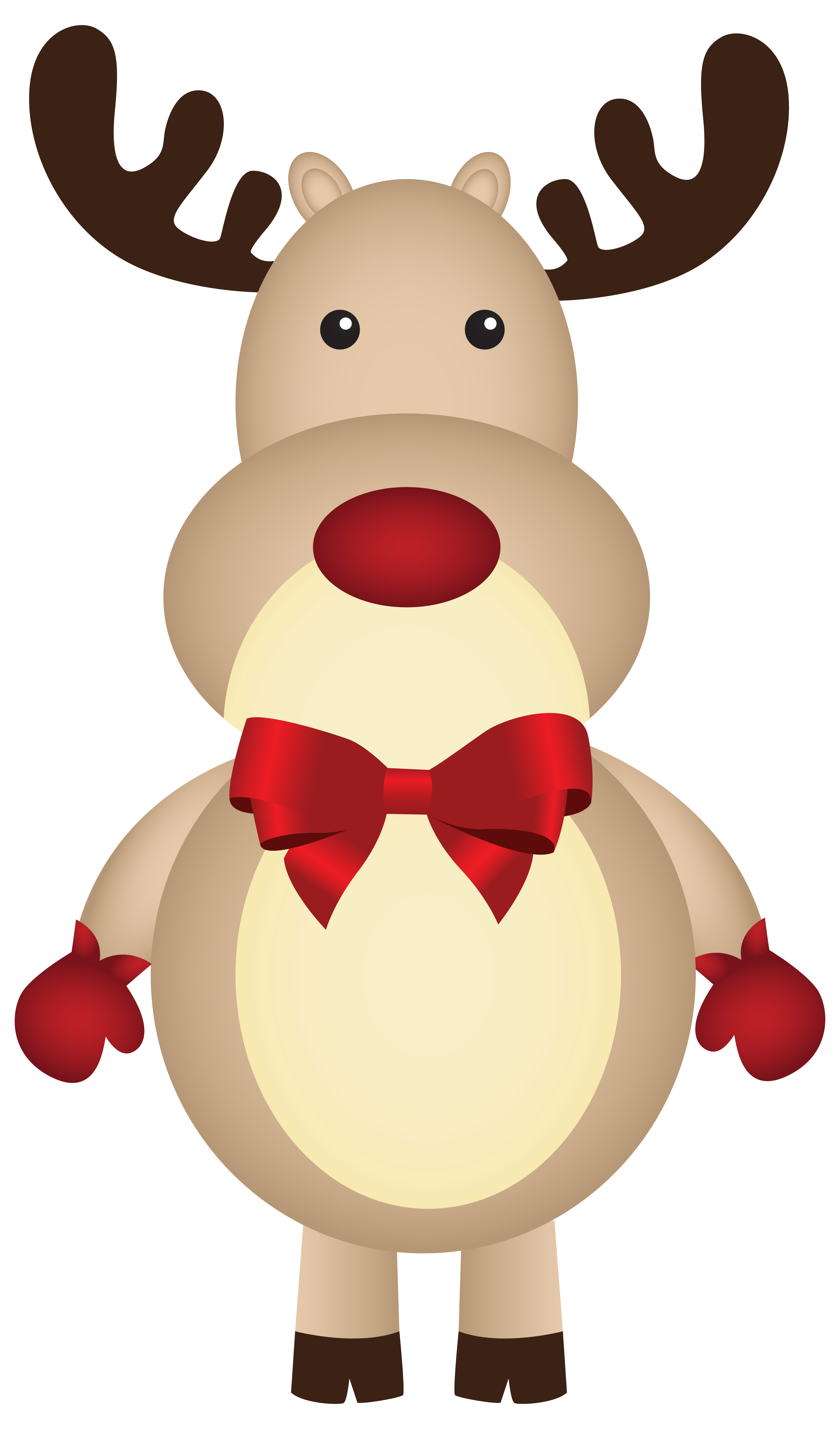 Rudolph clipart. Free christmas cliparts download