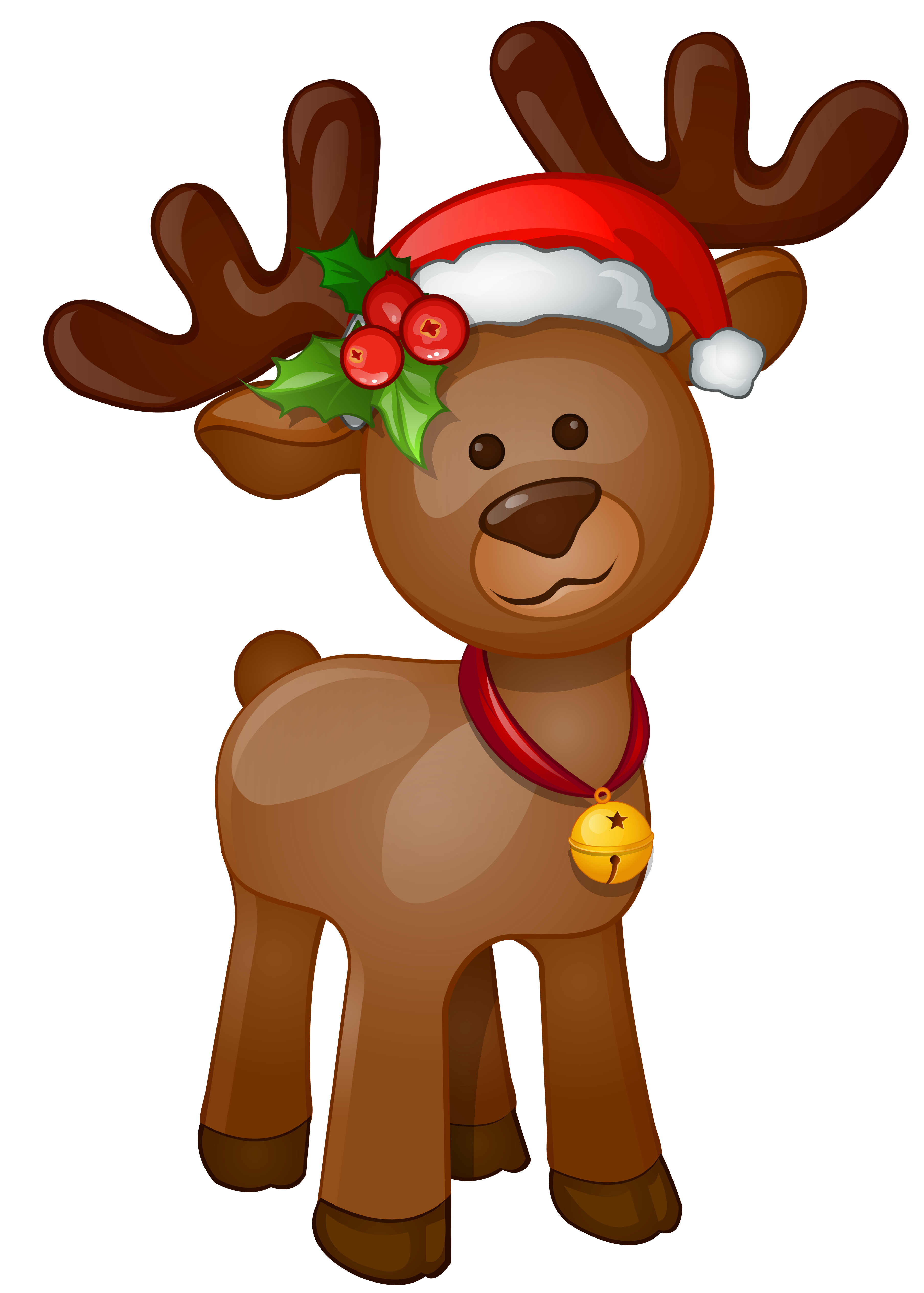 Rudolph clipart. Png clip art image