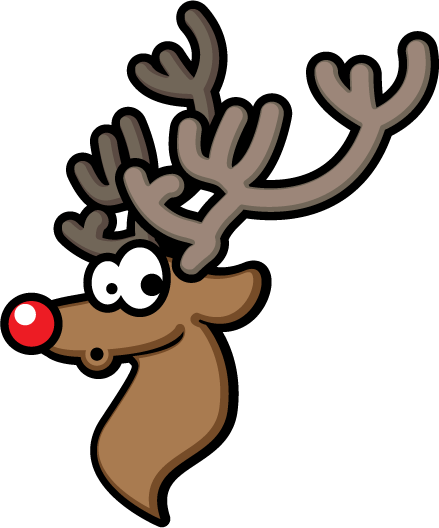 Rudolph clipart. Panda free images info